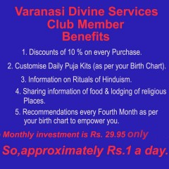 Varanasi Divine Services Club Membership